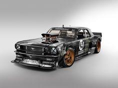 """Hoonicorn"", a 4x4 1965 Mustang for Ken Block"