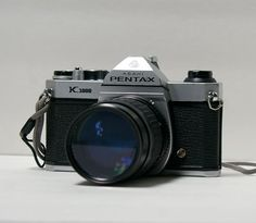 Vintage Pentax K1000 35 mm camera with JC Penny by CanemahStudios, $85.00