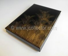 Japanese lacquer letter box at www.Jcollector.com