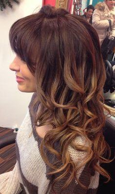 Ombre-curls