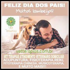 Dra  Flávia Oliva www.vetterapias.com.br  Vet Terapias deseja a todos os pais de todas as espécies animais um excelente dia com muita alegria!!! Obrigada por acompanharem com fervor o meu trabalho ❤!