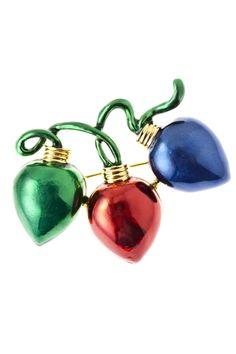 Christmas lights brooch#heirloomfindsjewerly and #beautiful