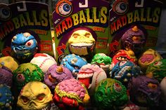 Madballs | 25 Awesome '80s Toys You Never Got But Can Totally Buy Today Bet Mike had these.