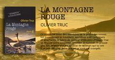 La Montagne rouge - Olivier Truc - éditions Métailié :