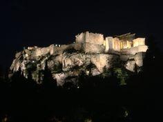 Parthenon at night (Athens, Greece)