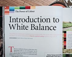 Want a plain English introduction to white balance? Read this!