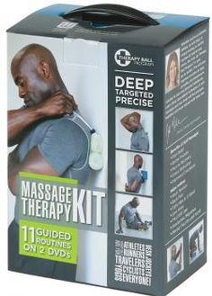 Self Massage - Full Body Therapy Ball Kit // great gift for fitness buffs!