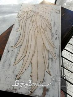 wing wood burning