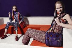 Prada Fall/Winter 2012/2013 Ad Campaign | Anne Vyalitsyna, Elza Luijendijk, Iselin Steiro, Madison Headrick, Magdalena Frackowiak & Vanessa Axente by Steven Meisel | FASHION SLOP