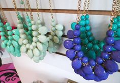 Colorful necklaces going FAST $23.95 each