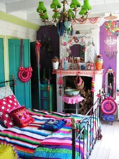 Gipsy Girl #colours #bedroom