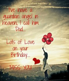 Dad in Heaven on your Birthday
