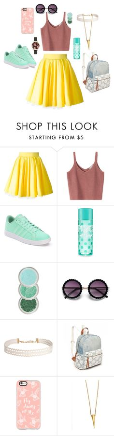"""""""Passion: Bright  152"""" by ashyrosepetal on Polyvore featuring Philipp Plein, adidas, Humble Chic, Red Camel, Casetify, Salty Fox Jewelry and Olivia Burton"""