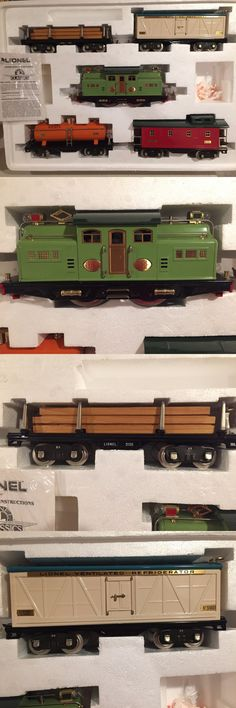 Other Standard Scale 180338: Lionel 6-13001 1-318E Freight Express Train Set - Std Gauge (Nib) -> BUY IT NOW ONLY: $429.99 on eBay!