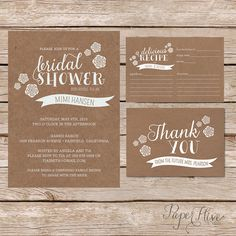 Hey, I found this really awesome Etsy listing at https://www.etsy.com/listing/199670156/rustic-bridal-shower-invitation-with