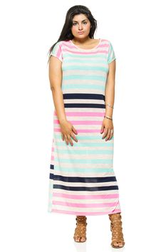 We all know a good Plus Size Maxi Dress can be hard to find, especially a trendy comfortable one that flatters your curves. Well... 15ShopStop has crafted the perfect Short Sleeve Plus Size Maxi Dress and it's totally affordable! Check out our new curve flattering banded maxi dresses! Perfect for beach get togethers, vacations, or just a hot spring and summer day! Walk with ease and comfort and know you look good doing it. We promise this is a perfect closet staple for all you plus size…