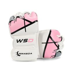 Gloves - Female MMA leather gloves