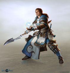 Character for Splittermond by melaniemaier.deviantart.com on @deviantART
