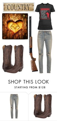 """""""Untitled #205"""" by horses4ever1322 on Polyvore featuring Yves Saint Laurent and Realtree"""