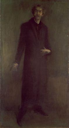 James Abbott McNeill Whistler: Brown and Gold: Self-Portrait Short Film Scripts, James Abbott Mcneill Whistler, Soldier Spy, Fawn Colour, Aubrey Beardsley, Tate Britain, Camden Town, Adam And Eve, Art Uk