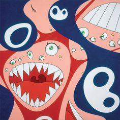 The mad genius of Takashi Murakami seizes the Vancouver Art Gallery Murakami Artist, Takashi Murakami Art, Superflat, Toy Art, Museum Of Modern Art, Art Museum, Japanese Contemporary Art, Contemporary Artists, Vancouver Art Gallery