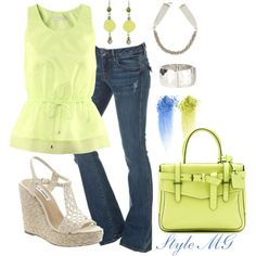"""Lime"" by romigr99 on Polyvore"