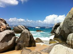 The Baths, Virgin Gorda, British Virgin Islands. One of the coolest places I have ever been!