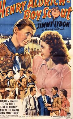 Jimmy Lydon film Henry Aldrich Boy Scout 35m-7729