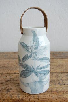 Milk bottle - Joanna Cocejo http://joannaconcejo.blogspot.com/