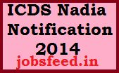 ICDS Nadia Notification 2014 Recruitment Apply 246 Anganwadi Vacancies