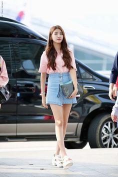 Gfriend Sowon Airport Fashion | Official Korean Fashion