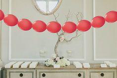 25 meter Ballonslinger van Doorknoopballonnen