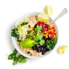From the creators of The Whole Foods Diet book comes this delicious, customizable Tex-Mex recipe that includes a variety of Blue Zones Superfoods.