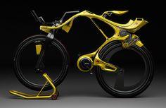Instituto Ecoação: Bike elétrica construída com fibra de carbono
