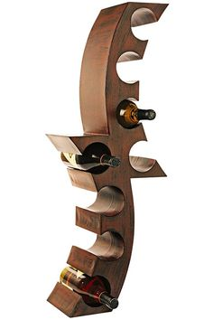 Calabria Wall-Mount Wine Rack from Home  Decorators