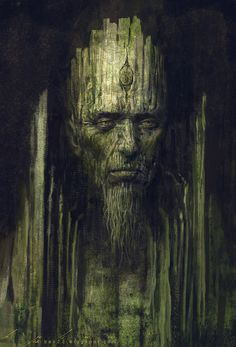 "Druids Trees:  ""Tree King,"" by `thienbao."