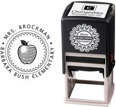 Check out the deal on Three Designing Women - Custom Self-Inking Stamp #CS-3273 at More Than Paper