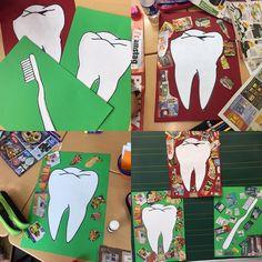 """112 Likes, 3 Comments - Froileins Kunterbunt (@_froileinskunterbunt) on Instagram: """"In einer Gruppenarbeit haben die Kinder Plakate zur Zahngesundheit erstellt. Mit…"""""""