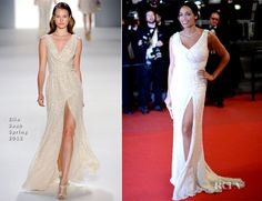Rosario Dawson In Elie Saab – 'As I Lay Dying' Cannes Film Festival Premiere
