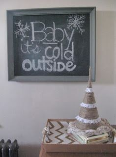 Christmas diy tutorial... This is so cute! Everyday you can do a new Cmas lyric