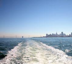 San Francisco United States - Food & Travel Blog - My Kiki Cake - Boat to Sausalito