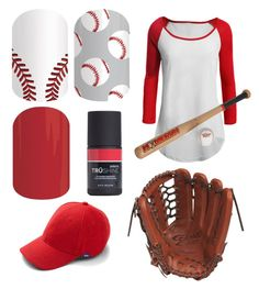 """""""Jamberry Fall 2015. Baseball. Www.shannasmith.jamberrynails.com"""" by shanna-silberman-smith on Polyvore featuring Mizuno, LE3NO and Keds"""