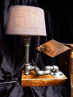 Lampe Leuchte Industrie Design Vintage Shabby Antik Edison Retro