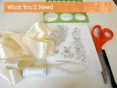 Create Your Own Stunning Crystallized Bridal Sash | Crafttuts+