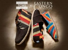 Ben Affleck Designs TOMS Shoes to Benefit Eastern Congo Initiative