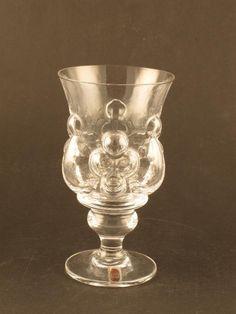 Pomona. Skruf. 1 st vinglas H 15,5 cm D 8,5 cm