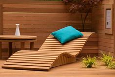 Spring poolside lounger diy project