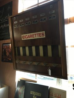 Vintage cigarette suspecting machine @Grandads Curious Attic DT1 1ST