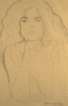 Klimt pencil sketch