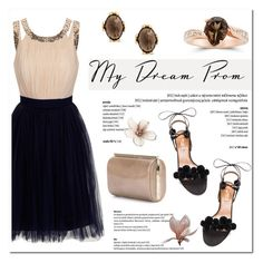 """""""Prom Do-Over: Your New Dream Dress"""" by blossom-jewels ❤ liked on Polyvore featuring Aquazzura, Jimmy Choo, contestentry, promdoover and Blossomjewels"""